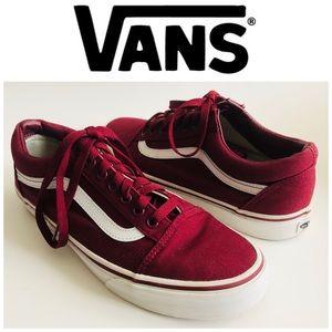 Vans Old Skool Cordovan Size 8
